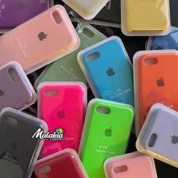 Capinha iPhone 7 iPhone 8 aveludada