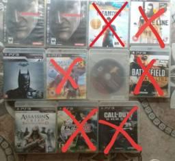 Jogos mídia física CD originais ps3
