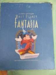 Fantasia disney caixa colecionavel
