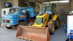 Aluguel de máquina e caminhão
