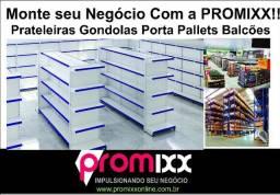 Gondolas Estantes Prateleiras- Promix Montamos e Ampliamos seu Negócio - Entrega Rapida