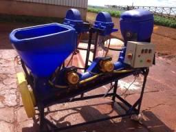 Maquina para tratar sementes