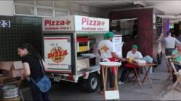 Operação de pizza móvel
