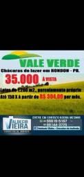 Chácara em Rondon, par elas a partir de R$ 300,00
