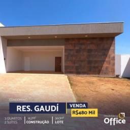 Casa em condomínio com 3 quartos no condomínio gaudi - bairro condomínio residencial gaudi