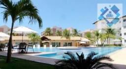 Apartamento com 3 dormitórios à venda, 76 m² por R$ 550.000 - Porto das Dunas - Aquiraz/CE