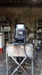 Motor de Popa 70 Hp 2 tempos Evinrude
