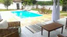 Casa temporada em Maricá, 3x quartos, pisicna e churrasqueria
