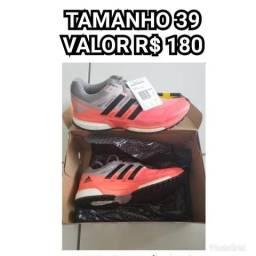23e536203f Tênis adidas boost response techfit número 39 novo e original