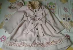 Vestido/Casaco Infantil Novo!
