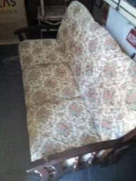 Jogo de sofa antigo 2 e 3 lugares
