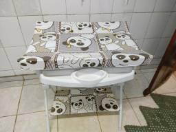 Banheira Para Banho De Bebê Com Redutor Luxo Rígida Galzerrano
