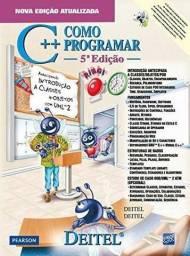 Título do anúncio: C++ Como Programar - 5a. ediçåo (a última) NOVO
