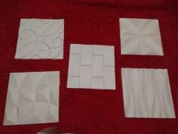 Placas de gesso 3D 1,50--- 2,00