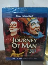 Blu-ray 3D Cirque Du Soleil Journey Of Man