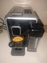 Cafeteira Três Corações Barista Cinza para Café Espresso