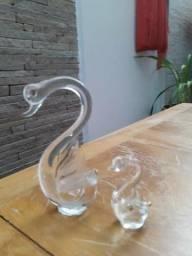 Conjunto cisnei cristal