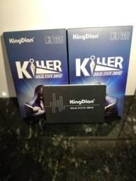Ssd KingDian 128gb - 550mb/s de leitura e 400mb/s de gravação *Novo