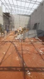 Galpão em construção (aluguel)