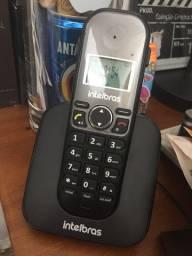 Interfone com telefone intelbras em perfeito estado