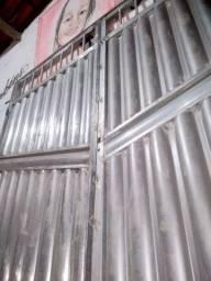 Temos portão.fero.em metalon.ferros em geral todos os modelos
