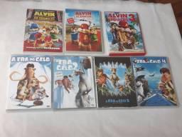 Lote DVD Filmes Infantis