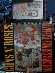 LP Guns N Roses - Appetite for Destruction (1987)