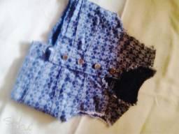 Jaquetinha jeans