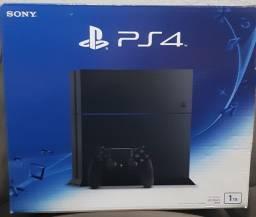 PS4 Fat 1TB + 14 jogos