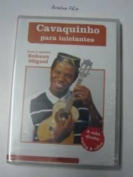 Cavaquinho para Iniciantes Dvd Video Aula Original Novo Lacrado Mestre Robson Miguel