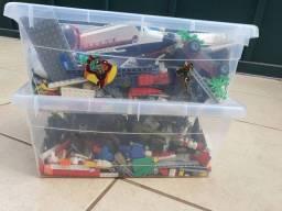 Caixas de Lego ( grande parte city)