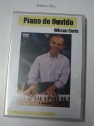 Piano de Ouvido Dvd Video Aula Original Novo Lacrado Português Br