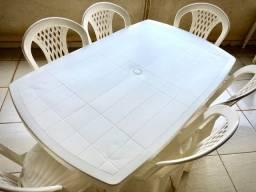 Conjunto Mesa c/ 06 cadeiras - TRAMONTINA
