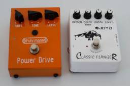 Pedal - Power Drive + Classic Flanger