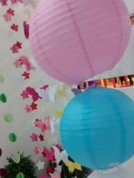 Decoração para festa pool party
