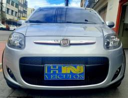 Fiat palio sporting câmbio manual motor 1.6 flex e-torq 4p prata 2013 57.000km ipva2021pg