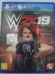 Jogo PS4 Original WWE 2k19 Mídia Física