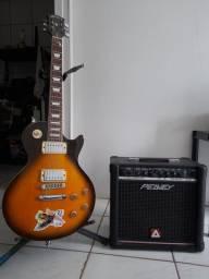 Guitarra Americana LP Shelter + Cubo Peavey