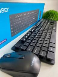 Combo de Teclado e Mouse Sem fio Multilaser
