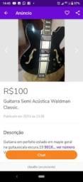 Guitarra Semi Acústica waldman Classic