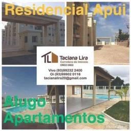 Apartamentos disponíveis a Locação  Residencial Apuí ,Condomínio Fechado