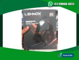 Fone De Ouvido Gamer Lehmox Gt-08 Headphone 7.1