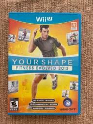 Jogo WiiU - Your Shape - Nintendo - impecável