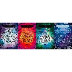 Livro Corte de espinhos e rosas Acotar 4 livros LACRADOS