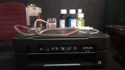 Impressora Epson xp 214 com kit bulk.
