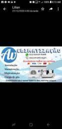 Limpeza,instalação consertos todo é qualquer tipo de serviço em centrais de ar.