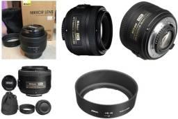 Lente Nikon Af-s Dx Nikkor 35mm F/1.8g usada