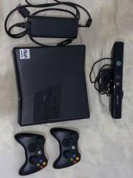 Xbox 360 slim 250gb Kinect 2 controles