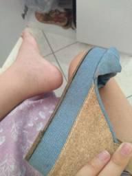 Vendo sandália moleca número 39