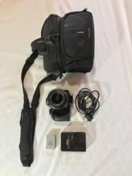 Câmera Nikon D3100 + Lente
